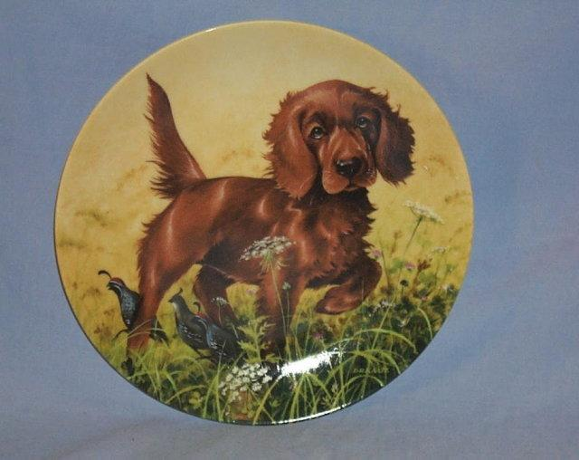 Knowles COMMAND PERFORMANCE - WEIMARANER Porcelain Plate