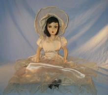 Black Haired BOUDOIR DOLL - Collectibles