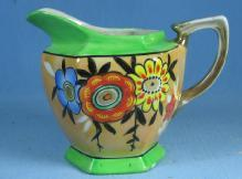 Antique Japanese Lustre Creamer Pitcher - Luster Porcelain