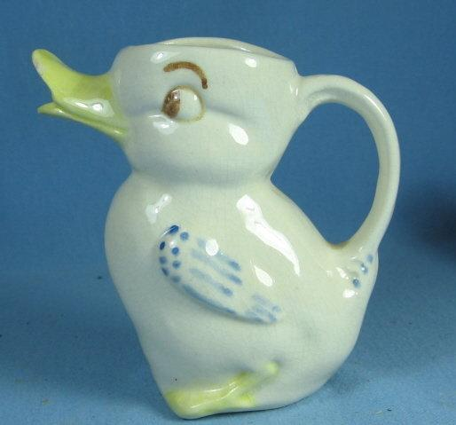 Vintage DUCK Creamer Pitcher - Brush McCoy ? Pottery