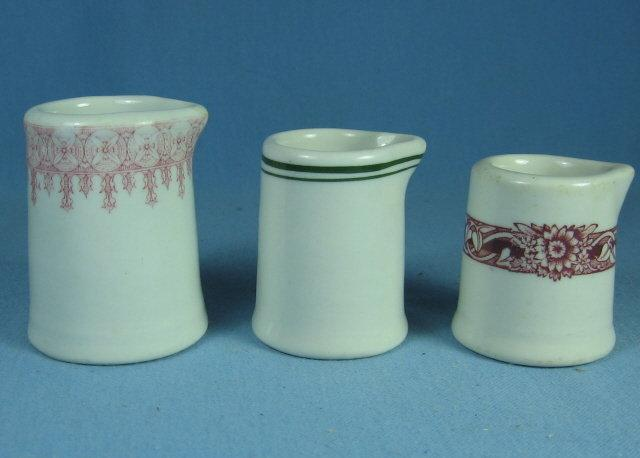 Pottery  Stoneware Restaurant Creamer Group - Commercial Pottery