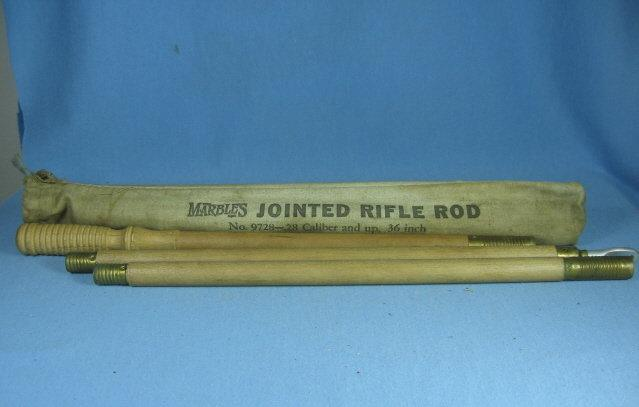 MARBLES Jointed Rifle Rod - Gun Cleaning Kit - Vintage Sporting