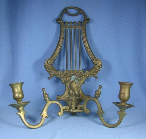 Candle Brass WALL SCONCE - metalware