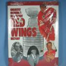 Detroit Red Wing Hockey GREATEST MOMENTS History Book - sporting