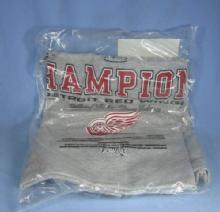 old 2002 Detroit RED WING Stanley Cup T-Shirt - sporting