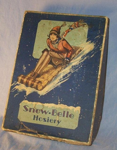 Three  Pairs SNOW- BELLE HOISERY  in  Original Box - Textiles