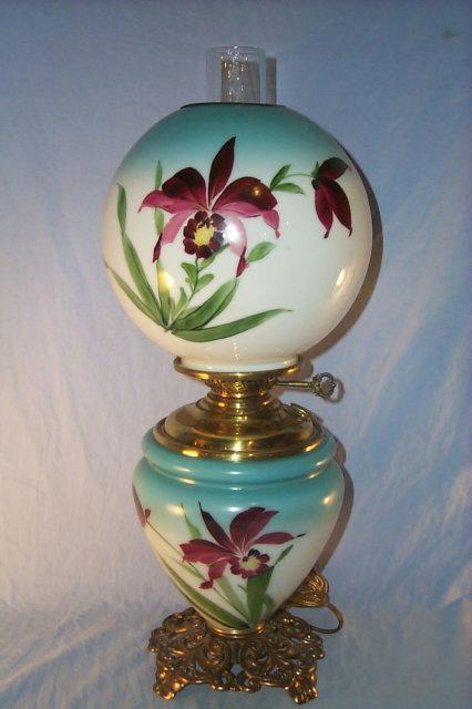 IRIS Hurricane Electrified Oil Lamp - Fine Art & Lamps
