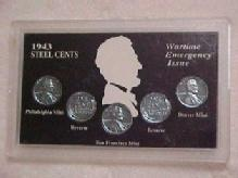 1943 STEEL CENTS - Metalware