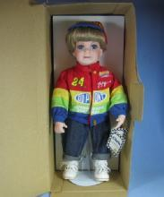 Jeff Gordon NASCAR Collectible TOY Porcelain CHRIS Doll MIB