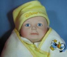 Ashton Drake BABY DONALD Doll and Walt Disney DONALD DUCK Toy