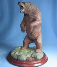 Mark Newman Sculptor MALE GRIZZLY BEAR Limited Edition Sculpture