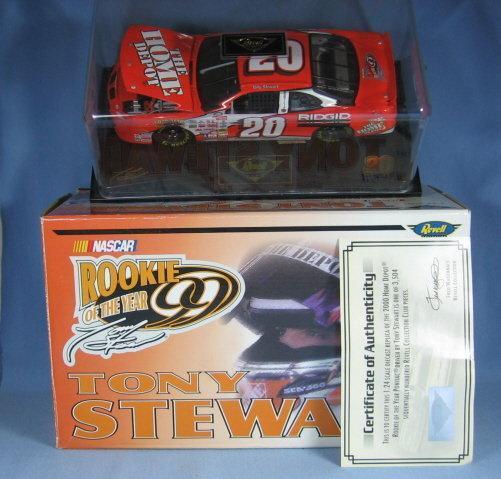 Tony Stewart NASCAR DieCast Car MIB Limited Edition Adult Toy