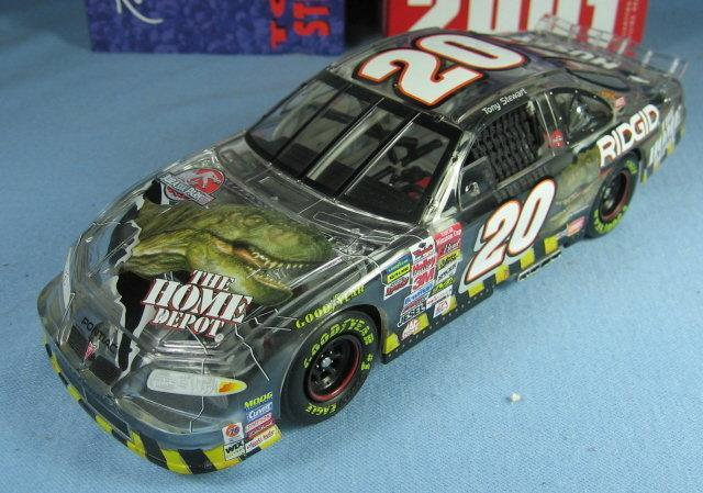 Tony Stewart JURASSIC PARK III Grand Prix Scale Stock Car - Adult Toy Collectible