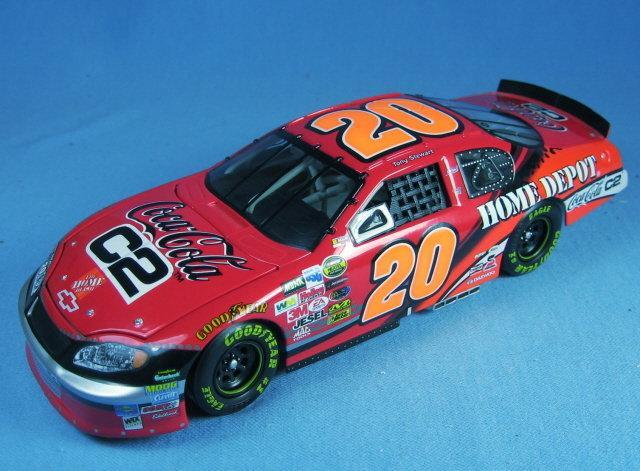 Limited Edition Nascar Coca Cola  1:24 Scale Die Cast Limited Edition NASCAR Car Replica TONY STEWART  Adult Collectible Toy
