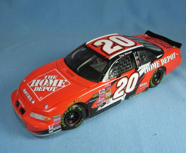 Limited edition nascar 1:24 Scale Die Cast Limited Edition NASCAR Car Replica TONY STEWART  Adult Collectible Toy