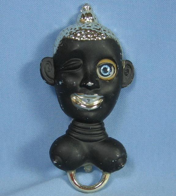 Black Americiana Nude ZuLu BOTTLE OPENER - Mechanical Eye Tool