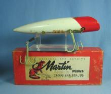 MARTIN Fishing Lure PLUG Tackle & Mfg - Sporting Fishing Bait