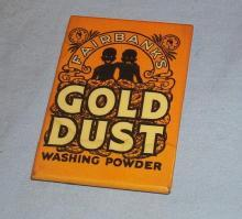 Fairbanks GOLD DUST Washing Powder Advertising Pocket Mirror - Ethnographic