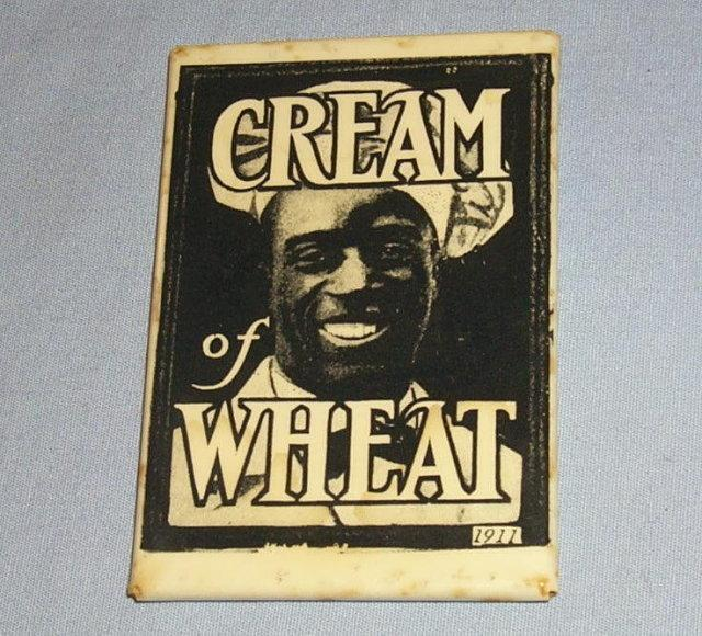 CREAM OF WHEAT Advertising Pocket Mirror - Ethnographic