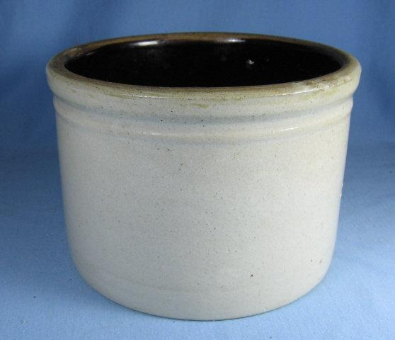 Kitchen Crock Vintage Stoneware Storage Vessel - misc pottery