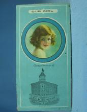 Sewing Needle Advertising Book - Vintage TRAVERSE CITY STATE Bank - textiles