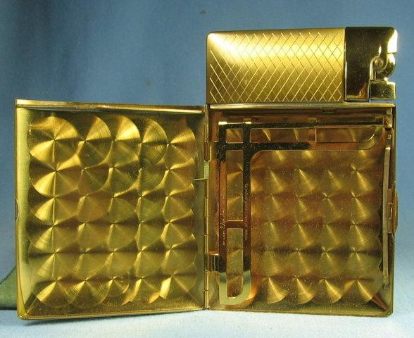 Lighter ELGIN American Cigarette CASE and LIGHTER - tobaccianna smoking