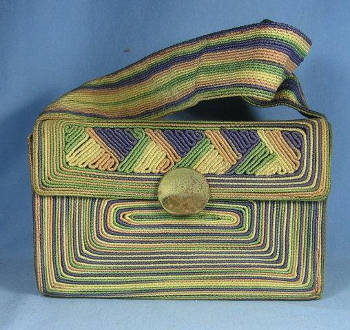 California Vintage Corde Handbag Purse - misc collectible
