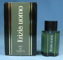 KRIZIA UOMO Miniature Mini Perfume Parfum Bottle with Original Box