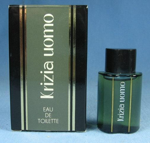 KRIZIA UOMO Miniature Mini Perfume Parfum Bottle with Original Box