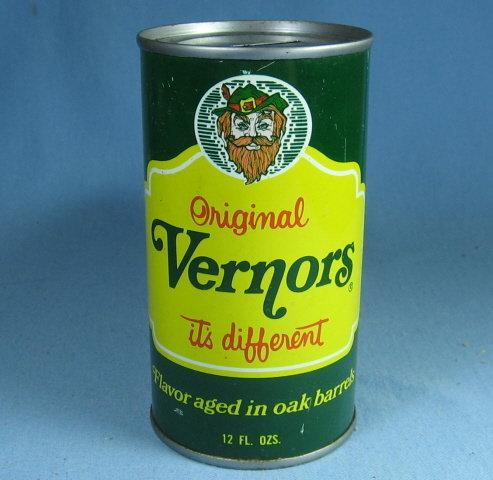 Vintage 1970's VERNORS Ginger Ale Advertising Can BANK