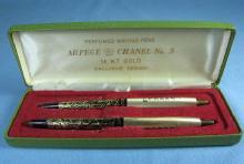 PERFUMED Writing PEN - Vintage Arpege Chanel No 5 Ink Pen