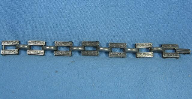 Vintage Sterling Silver LINK Bracelet - Estate Jewelry