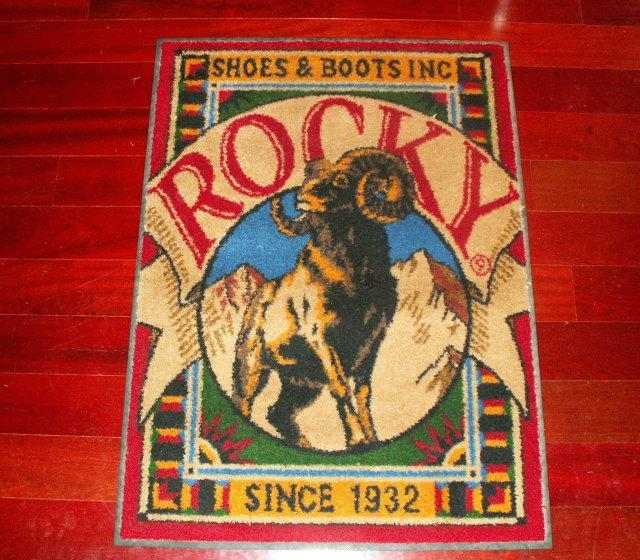 ROCKY SHOES & BOOTS Ram Store Display - Advertising