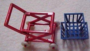 RENWAL Dollhouse Grocery Cart - Toys