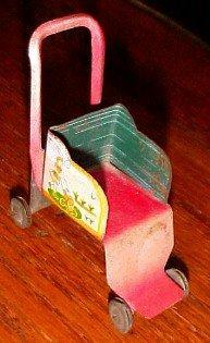 Wheelbarrow Candy Container - Glass