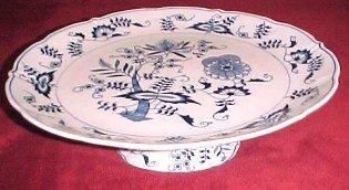 Blue Danube Footed Server - Porcelain/Fine China