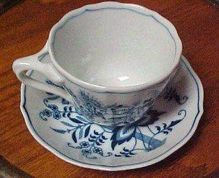 Blue Danube Nappy Plate - Porcelain / Fine China