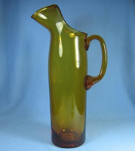Blenko Art Glass MARTINI Pitcher