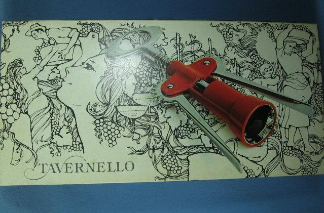 Vintage Tavernello Oversize Champagne or Wine  CORKSCREW NIB