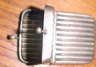 Luggage Tag WEBSTER Sterling  - Silver