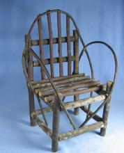 Doll or Teddy Bear Adirondak TWIG Chair - Toy furniture