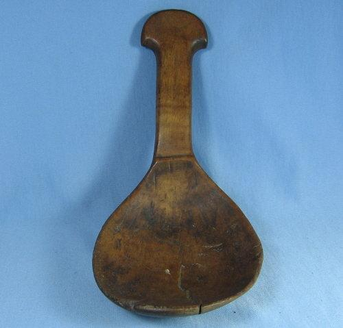 Antique  TREENWARE Native American Wood LADLE - misc