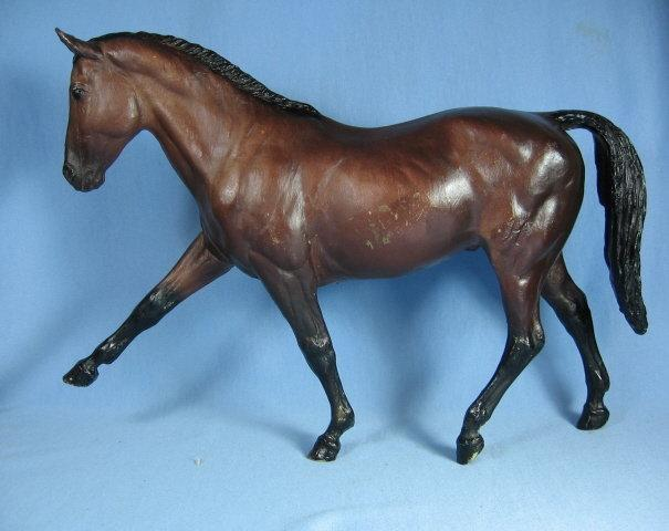 Vintage Breyer HANOVERIAN Traditional Model Horse #58 - Toy