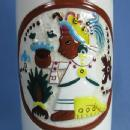 Vintage KAHLUA Liquor DECANTER Bottle Mexico Pottery - Barware