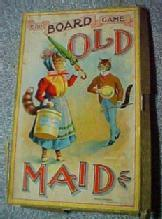 OLD MAID Game Board - Paper