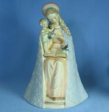 Hummel FLOWER MADONNA circa 1957 10/1 TMK #3  Rare 7 inch MINT Porcelain Figurine