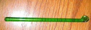Green Glass Stir - Glass