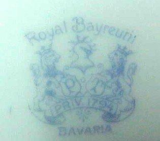 Royal Bayreauth Creamer Hunt Dogs - Porcelain/Fine China