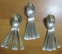DIAMOND SILVER Silverplate Flatware 15pc TEASPOON Lot