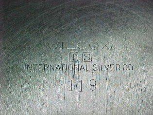 Early American International Sugar Creamer Set - Silver